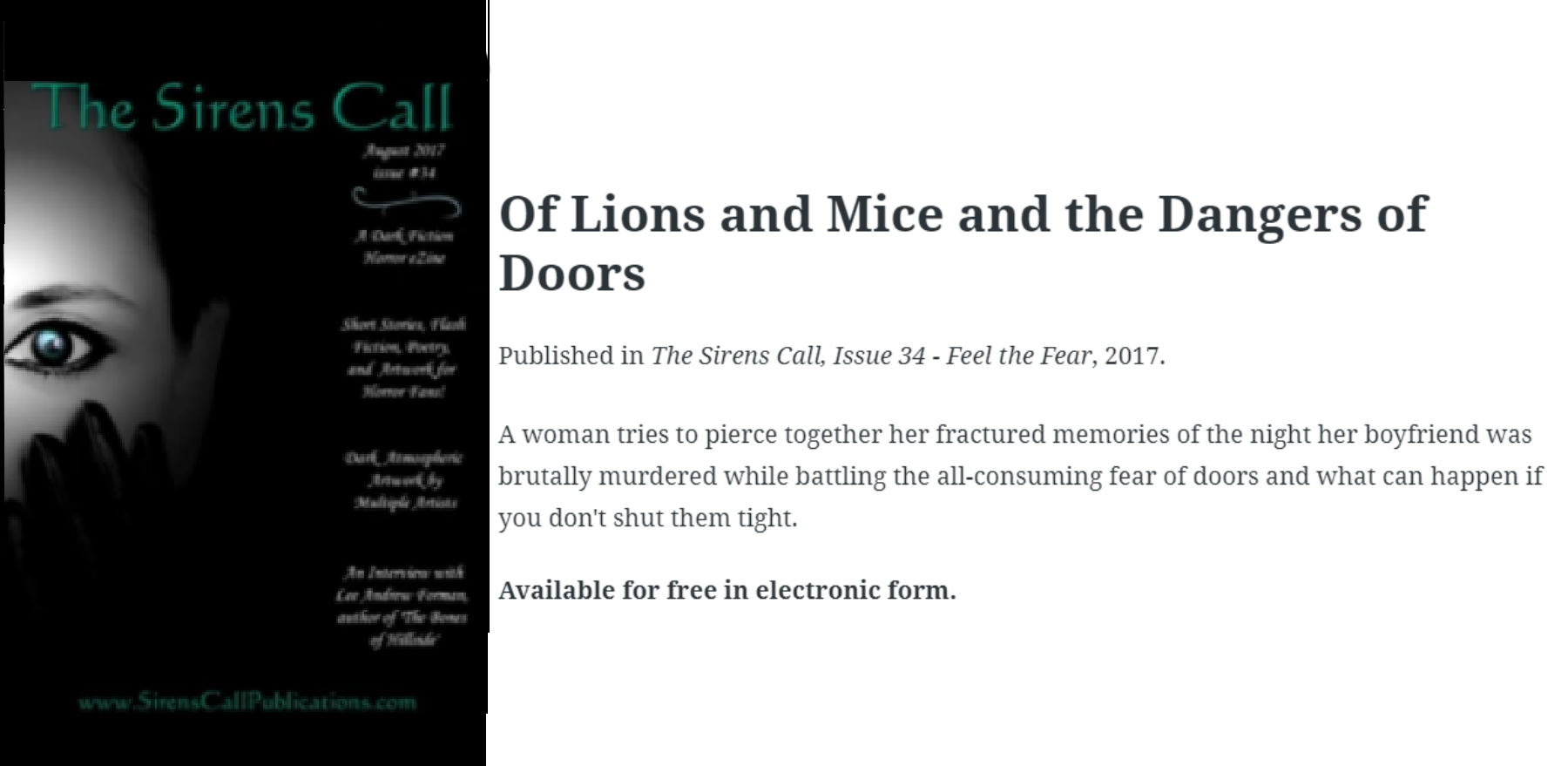 of lions and mice